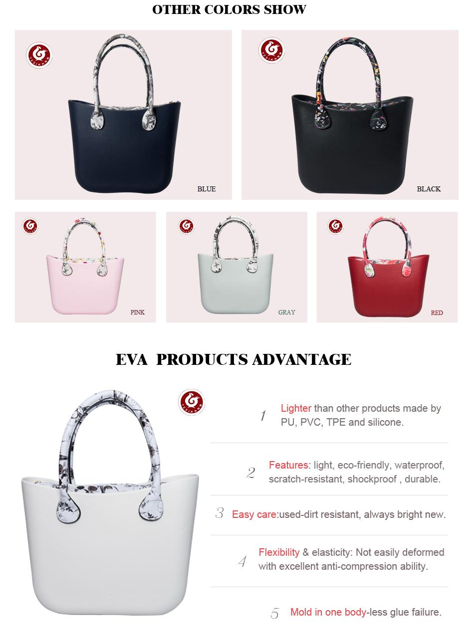 89a27d57ddc4 OEM ODM Fashion Women EVA Beach Handbag From China Supplier-EVA Bags ...
