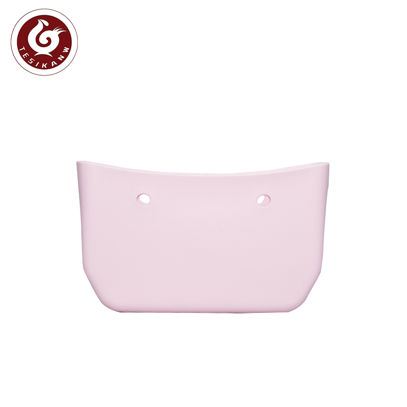 OEM ODM  Custom classic waterproof shoulder bag small EVA handbag bodies pink