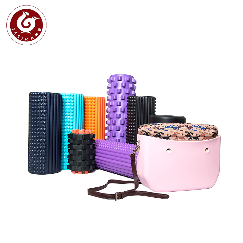 OEM ODM  EVA yoga foam roller customized for muscle Massage Foam Roller  and in gymnastic accessories exercise